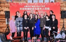 十国驻华大使夫人齐聚北京,集体为天芮打CALL!