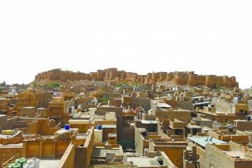 唯一住人的千年城堡印度沙漠中藏着黄金之城