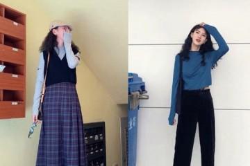 合适酷酷女孩的时尚穿搭时尚精衣柜显高神器