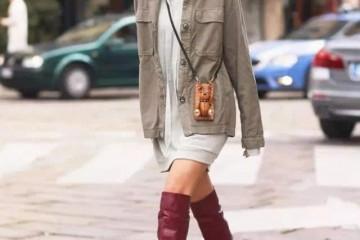 时尚慵懒风穿搭本年很盛行休闲不失女人味带来高档气质