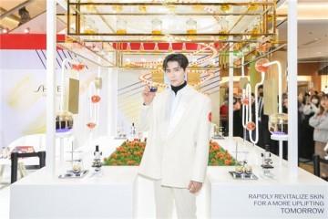 SHISEIDO资生堂携手阿云嘎亮相上海新世界商城 尽享日式精研护肤臻选
