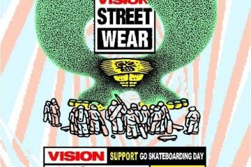 #大滑街头#VISION STREET WEAR中国首次支持世界滑板日